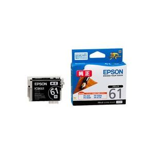 (業務用30セット) EPSON エプソン インクカートリッジ 純正 【ICBK61】 ブラック(黒)【日時指定不可】
