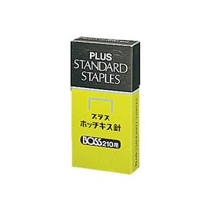 (業務用100セット) プラス ホッチキス針 BOSS 210用 210本とじ×24【日時指定不可】