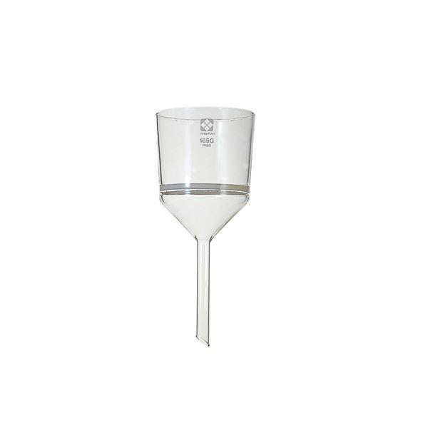 【柴田科学】ガラスろ過器 165G ブフナロート形 165GP40 013110-16540【日時指定不可】