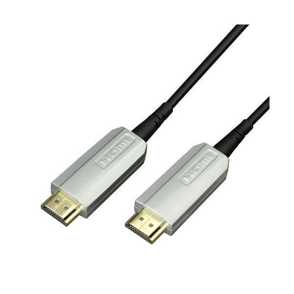 ラトックシステム HDMI光ファイバーケーブル 4K60Hz対応 (20m) RCL-HDAOC4K60-020【日時指定不可】