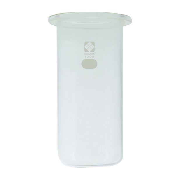 【柴田科学】セパラブルフラスコ 円筒形 85mm 1L 005670-1000【日時指定不可】