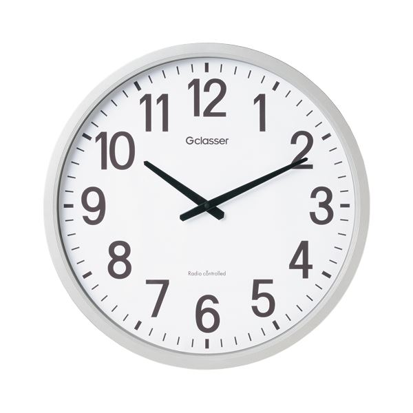 キングジム 電波掛時計 GDK-001【日時指定不可】