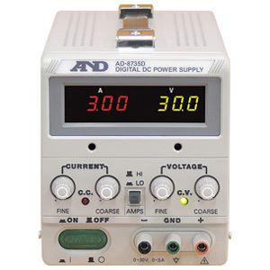 A&D(エーアンドデイ)電子計測機器 直流安定化電源(30V、3A)AD-8735D【代引不可】【日時指定不可】