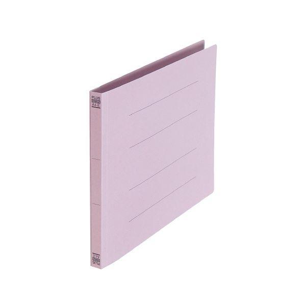 (業務用30セット) プラス フラットファイル樹脂 022N A4E 紫【日時指定不可】
