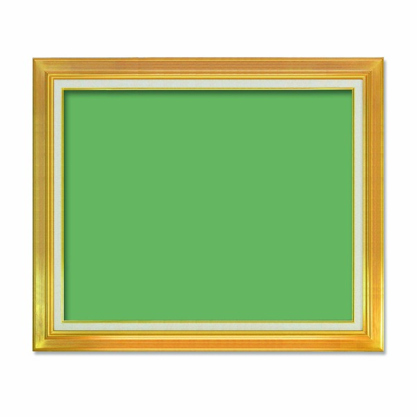 【油額】油絵額・キャンバス額・金の油絵額・銀の油絵額 ■F30号(910×727mm)「ゴールド」【日時指定不可】