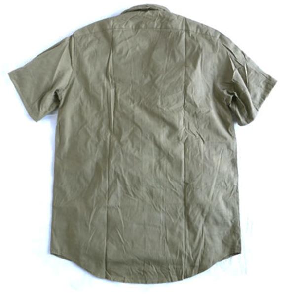 ルーマニア軍放出 フィールドビンテージシャツ未使用デットストック 《44S相当》【日時指定不可】