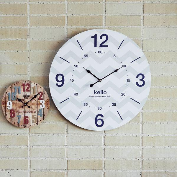 モチーフクロック townシリーズ/壁掛け時計 【LLサイズ/ヘルシンキ】 直径60cm【日時指定不可】