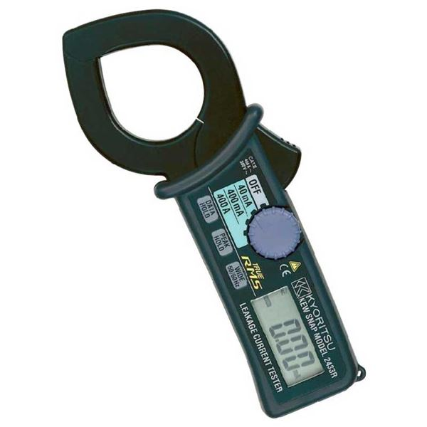 共立電気計器 キュースナップ・漏れ電流・負荷電流測定用クランプメータ 2433R【代引不可】【日時指定不可】