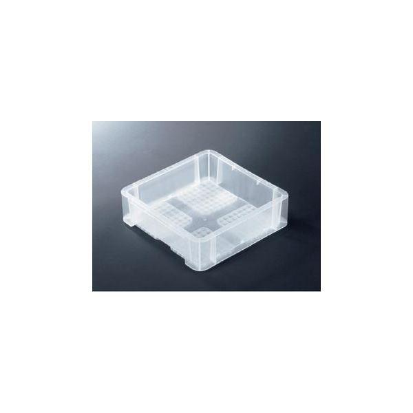 【10個セット】 TP規格コンテナボックス 【TP-331B 穴無し】 透明 相互モジュール嵌合可【代引不可】【日時指定不可】