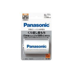 (業務用30セット) Panasonic パナソニック ニッケル水素電池単1 BK-1MGC/1【日時指定不可】