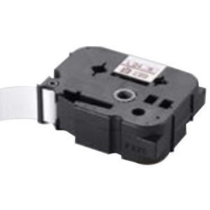 (業務用30セット) マックス 強粘着テープ LM-L524BWK 白に黒文字 24mm【日時指定不可】