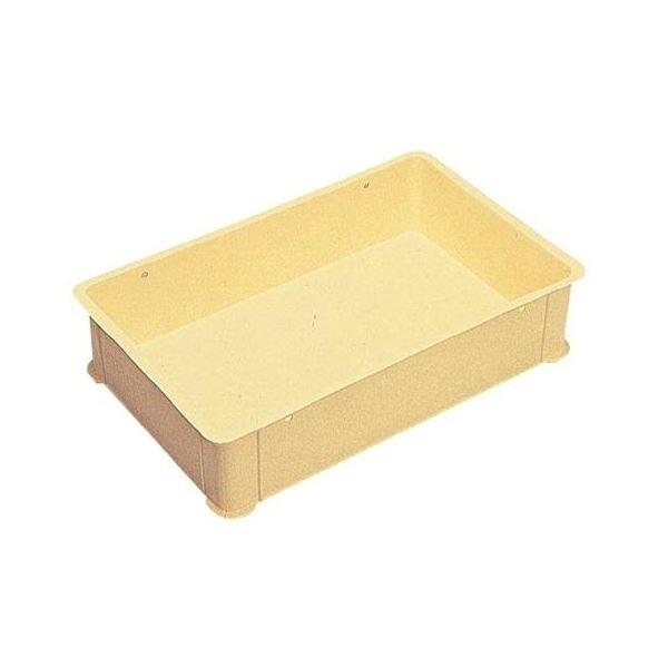 【5個セット】 パンコンテナー/食品用コンテナー 【#330】 アイボリー 清掃簡単【代引不可】【日時指定不可】