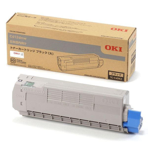 【純正品】 OKI TC-C4DK2 トナーカートリッジ ブラック 大 【日時指定不可】