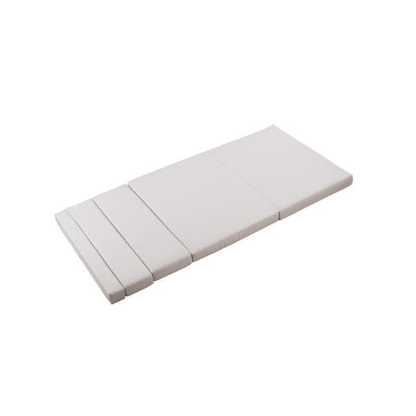 のびのびマットレス/寝具 【RB-B1521G・1542G専用】 シングルサイズ 長さ7段階調節可【代引不可】【日時指定不可】