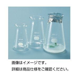 (まとめ)培養フラスコ 広口200ml【×20セット】【日時指定不可】