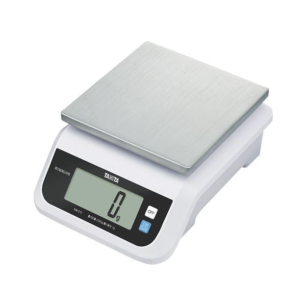 タニタ デジタルスケール 5kg ホワイト KW-210-WH【日時指定不可】