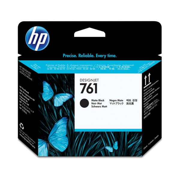 (まとめ) HP761 プリントヘッド マットブラック CH648A 1個 【×3セット】【日時指定不可】