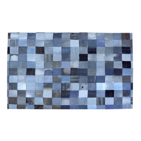 ラグマット 長方形(170cm×230cm) デニムラグ WE-230【日時指定不可】