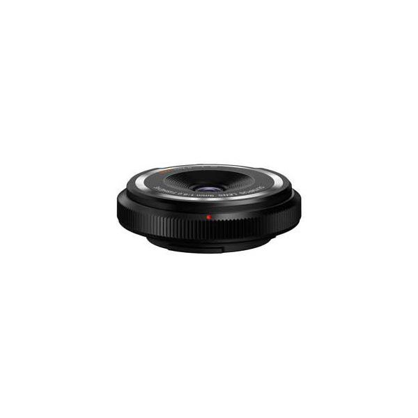 OLYMPUS フィッシュアイボディーキャップレンズ ブラック BCL-0980BLK BCL0980BLK【日時指定不可】