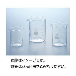 (まとめ)硼珪酸ガラス製ビーカー(IWAKI)1000ml【×3セット】【日時指定不可】