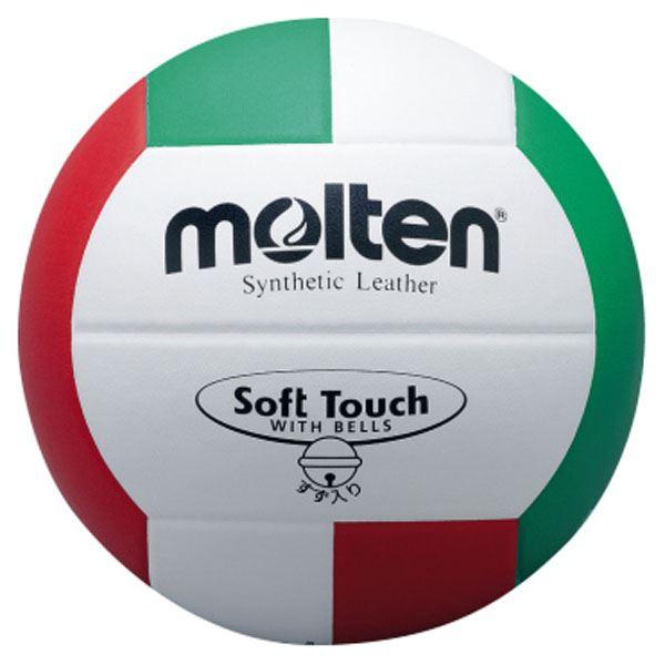 モルテン(Molten) バレーボール4号球 ソフトタッチ鈴入りボール V4SLBL【日時指定不可】