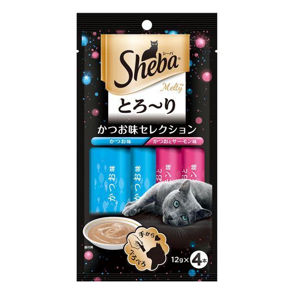 (まとめ) SMT11シーバメルティかつお味12g×4P 【猫用フード】【ペット用品】 【×48セット】【日時指定不可】