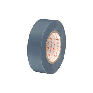 (業務用300セット) ヤマト ビニールテープ/粘着テープ 【19mm×10m/灰色】 NO200-19【日時指定不可】