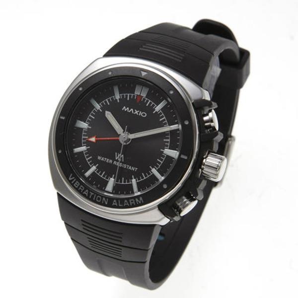 マキシオ激振(黒)【腕時計】【日時指定不可】