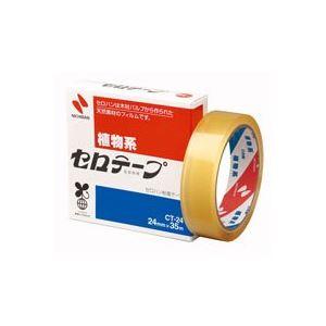 (業務用100セット) ニチバン セロテープ CT-24 24mm×35m【日時指定不可】