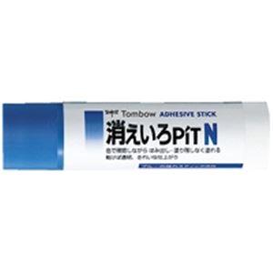 (業務用10セット) トンボ鉛筆 スティックのり消えいろピット PT-NC 20個 ×10セット【日時指定不可】