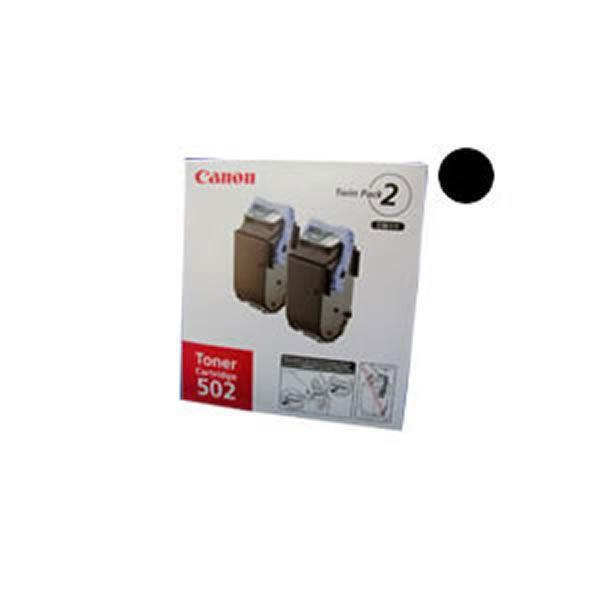 (業務用3セット)【純正品】 Canon キャノン トナーカートリッジ 【502 ブラック】 2本入【日時指定不可】