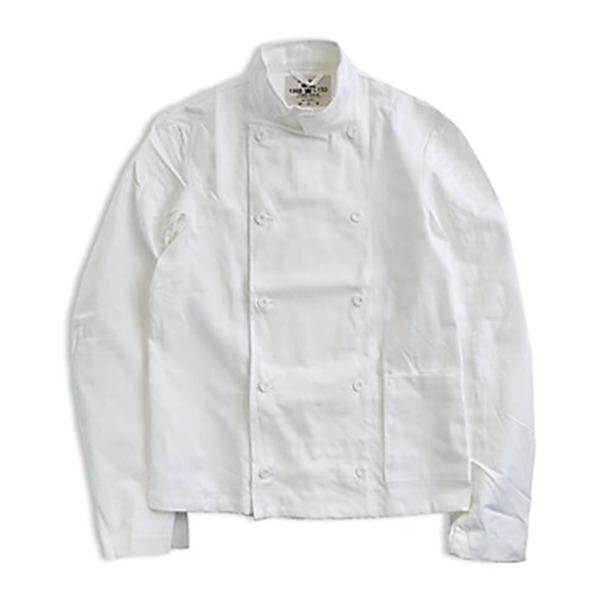 【超ポイント祭?期間限定】 スウェーデン軍放出コックジャケット ホワイト未使用デットストック《52(L相当)》【日時指定不可】, スレバーアンダーウェア:97645a8e --- canoncity.azurewebsites.net