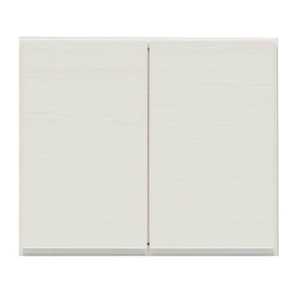 上置き(ダイニングボード/レンジボード用戸棚) 幅50cm 日本製 ホワイト(白) 【完成品】【玄関渡し】【代引不可】【日時指定不可】