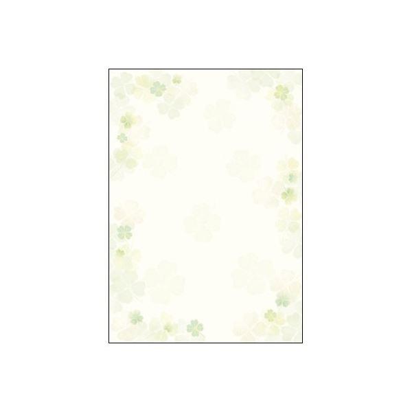 (業務用20セット) ササガワ 和柄用紙 和ごころ 10枚 4-1026 四つ葉【日時指定不可】