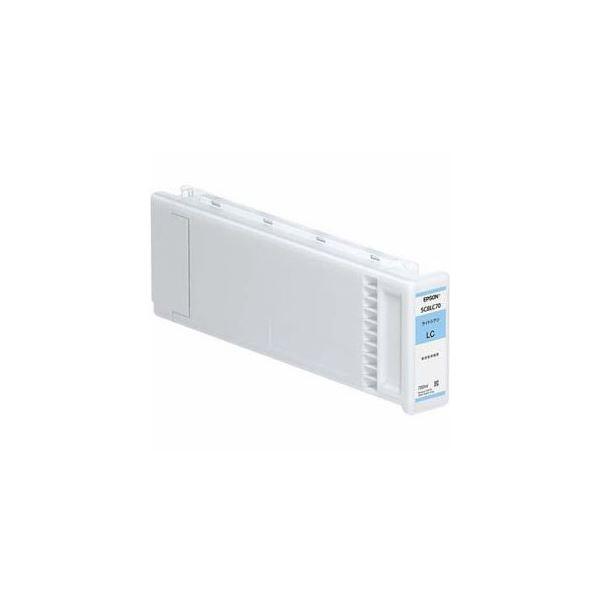 EPSON 純正インクカートリッジ(ライトシアン) SC8LC70【日時指定不可】