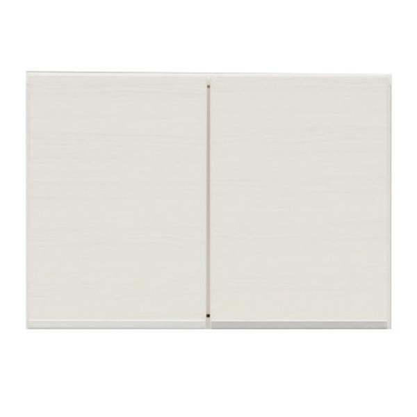 上置き(ダイニングボード/レンジボード用戸棚) 幅60cm 日本製 ホワイト(白) 【完成品】【玄関渡し】【代引不可】【日時指定不可】