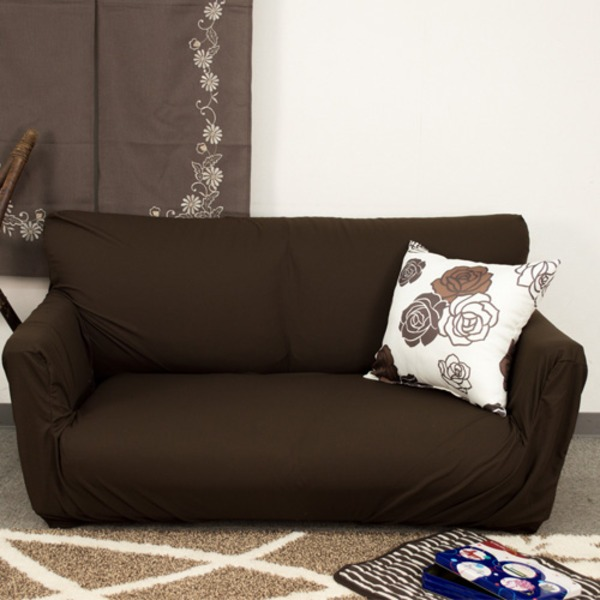 Cloth for brown / sofa cover micro waffle which take stretch sofa cover /  three which is hard to become the pill, and there is an elbow in washable;  ...