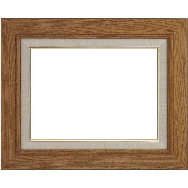シンプル仕様 油絵額縁/油彩額縁 【P20 チーク】 表面カバー:アクリル 木製【日時指定不可】