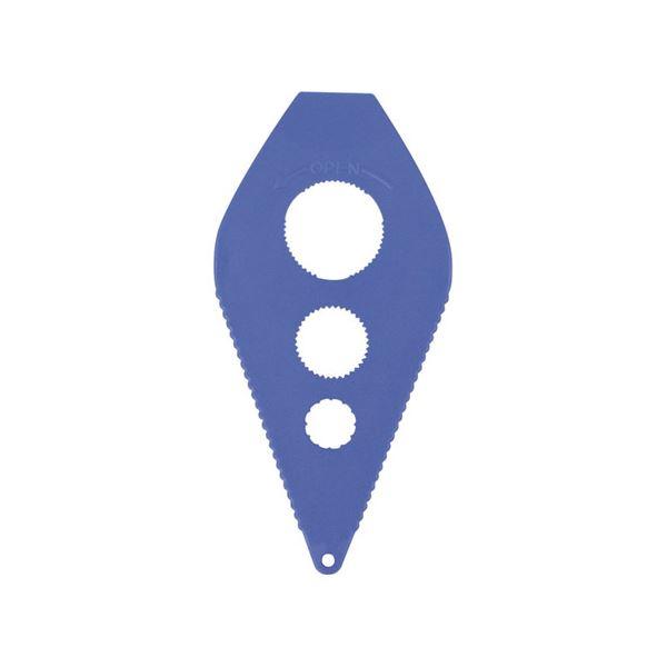 (業務用20セット) 台和 フリーオープナー HS-N40 ブルー【日時指定不可】