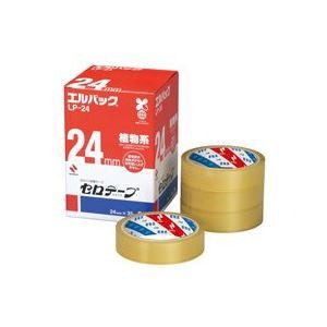 (業務用20セット) ニチバン セロテープ Lパック LP-24 24mm×35m 6巻 【日時指定不可】