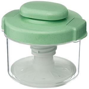 【18セット】リス漬物容器 ハイペット R-10 グリーン【代引不可】【日時指定不可】