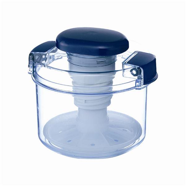 【18セット】リス漬物容器 ハイペット R-10 クリアブルー【代引不可】【日時指定不可】