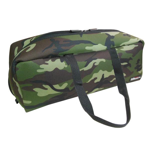(業務用20セット)DBLTACT トレジャーボックス(作業バッグ/手提げ鞄) Lサイズ 自立型/軽量 DTQ-L-CA 迷彩 〔収納用具〕【日時指定不可】