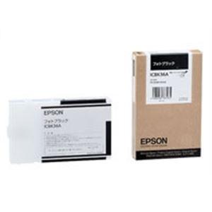 (業務用10セット) EPSON エプソン インクカートリッジ 純正 【ICBK36A】 フォトブラック(黒)【日時指定不可】