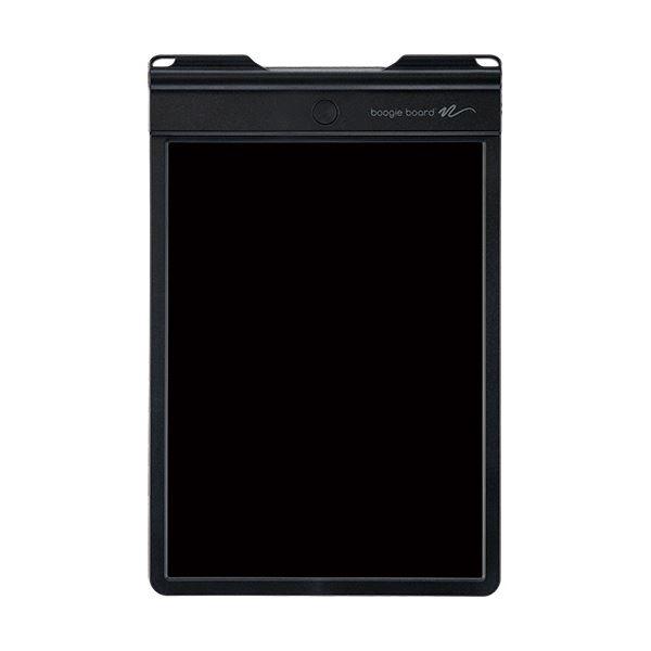 (まとめ)キングジム 電子メモパッド ブギーボード黒 BB-9 1台【×3セット】【日時指定不可】