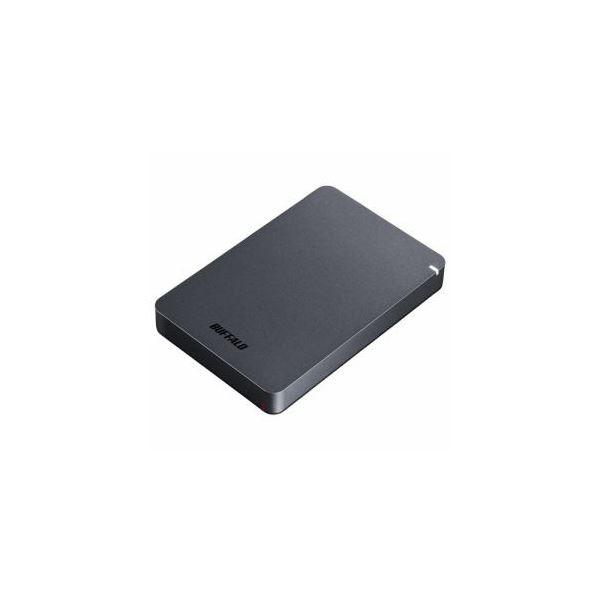 BUFFALO ポータブルHDD ブラック 2TB HD-PGF2.0U3-BBKA【日時指定不可】