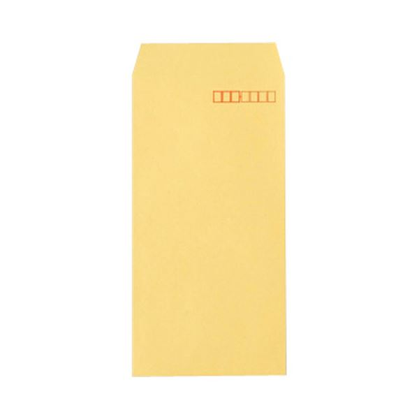 TANOSEE R40クラフト封筒 長3 70g/m2 〒枠あり 業務用パック 1箱(1000枚) 【×10セット】【日時指定不可】