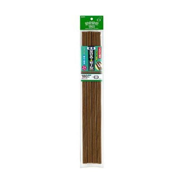 (まとめ)ELPA 足せるモール 壁用1号45cm テープ付 木目調ナチュラル PSM-M145P4(NA)1パック(4本)【×10セット】【日時指定不可】