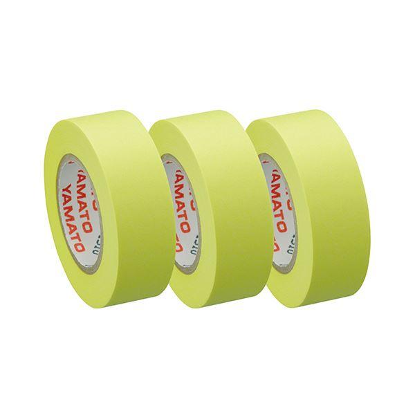 (まとめ) ヤマト メモック ロールテープつめかえ用 15mm幅 レモン RK-15H-LE 1パック(3巻) 【×50セット】【日時指定不可】