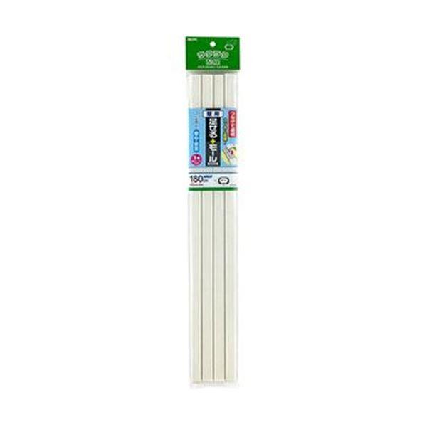 (まとめ)ELPA 足せるモール 壁用1号45cm テープ付 壁紙石目 PSM-K145P4(ST)1パック(4本)【×10セット】【日時指定不可】